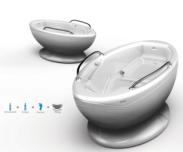 Water Saving Bathtub