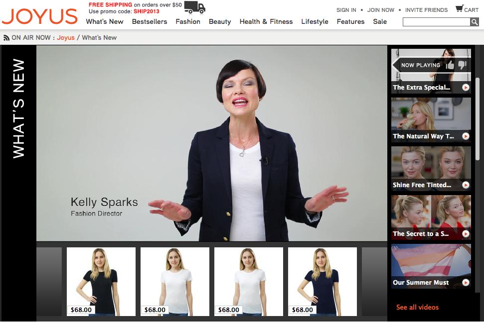 高端视频导购网站Joyus.com  获得B 轮1150 万美元风投