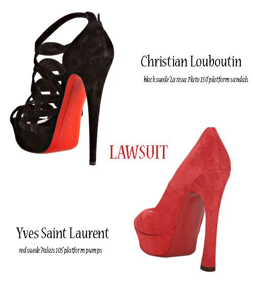 Louboutin, YSL lawsuit
