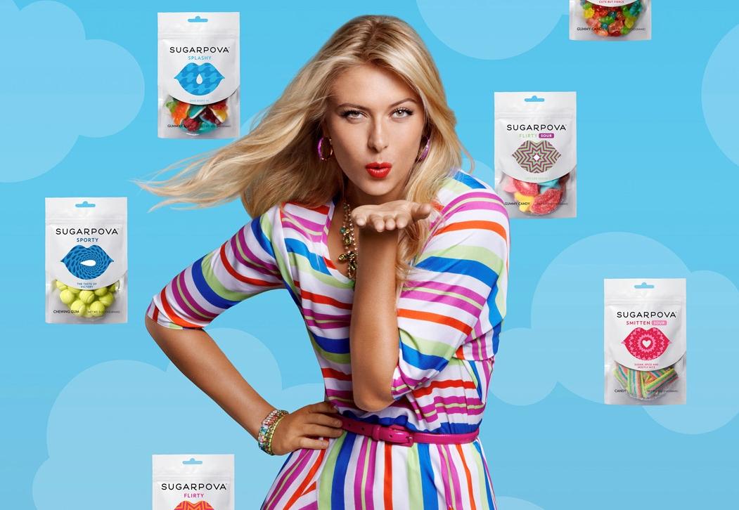 莎拉波娃的高级糖果品牌 Sugarpova