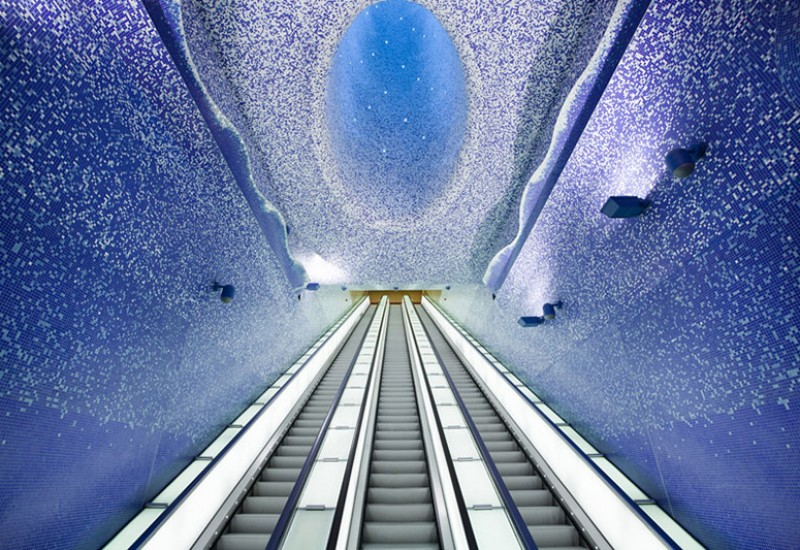 Toledo Metro Subway Station in Napoli-4