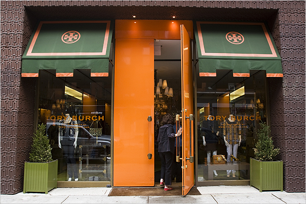 Tory Burch NY store
