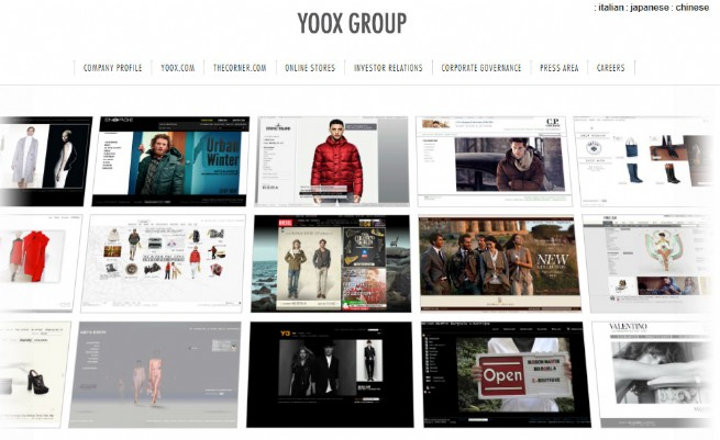 YOOX group pages