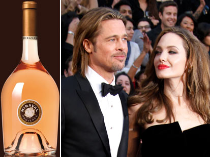 Pitt 和 Jolie 的玫瑰红酒开卖即售罄