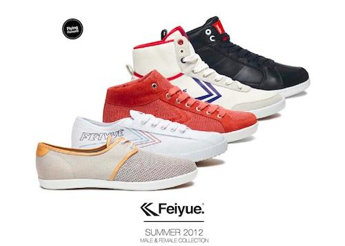 """""""中为洋用""""-Feiyue 运动鞋的故事"""