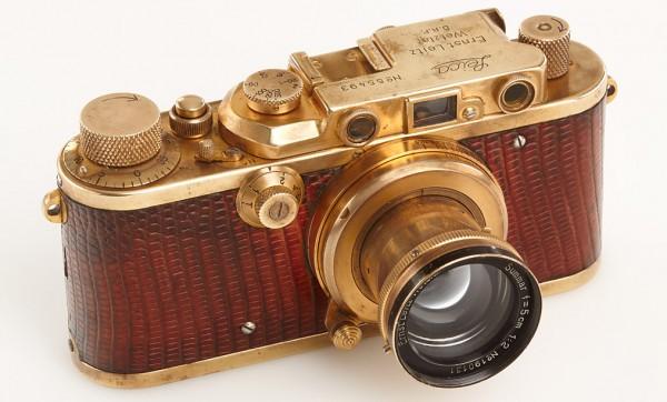古董徕卡相机拍出 52.8万欧元的高价