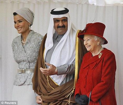 卡塔尔的奢侈品投资组合