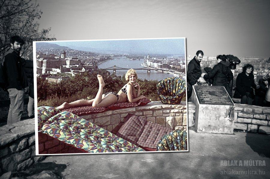 sunbathing-on-gellert-hill-1969-and-today