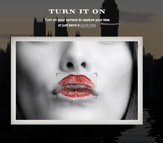 Burberry 联手 Google 让你吻遍世界