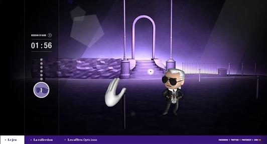 Karl-lagerfeld video game