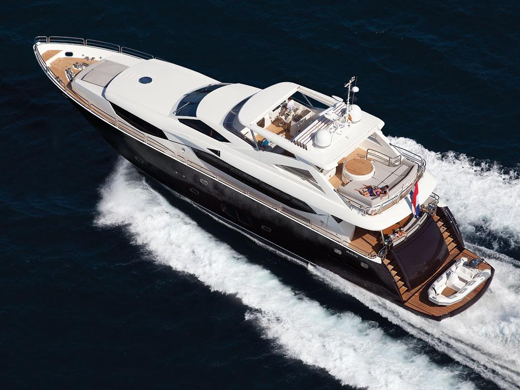 大连万达收购英国最大豪华游艇公司 Sunseeker