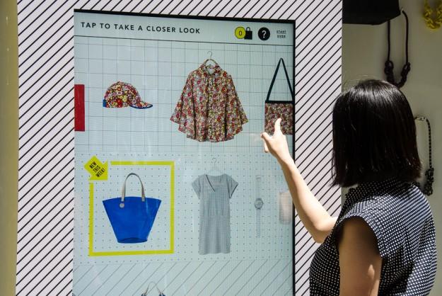 eBay 在纽约为Kate Spade Saturday开虚拟店:可购物橱窗