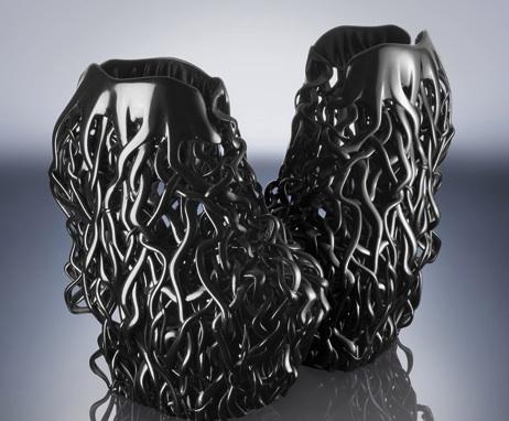 3D 打印的女鞋亮相巴黎高定时装周