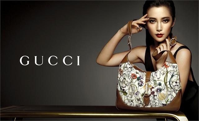 Li Bingbing for Gucci Accessories SS 2013 Ad Campaign 1