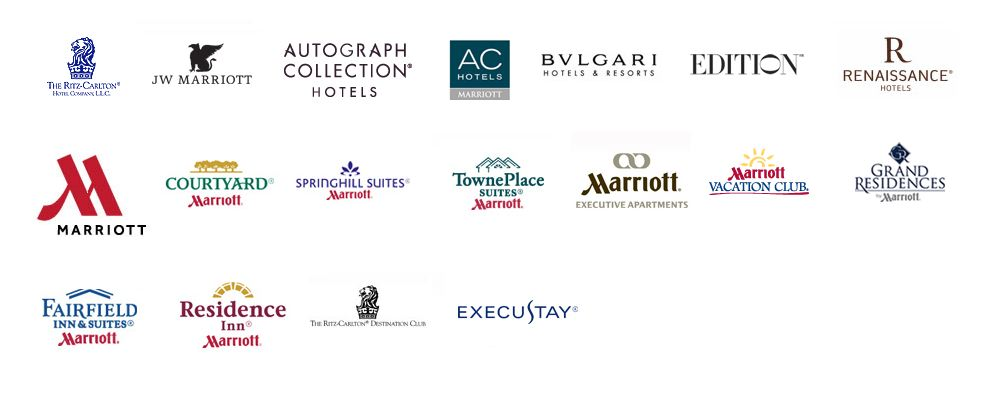 Marriot hotel brands