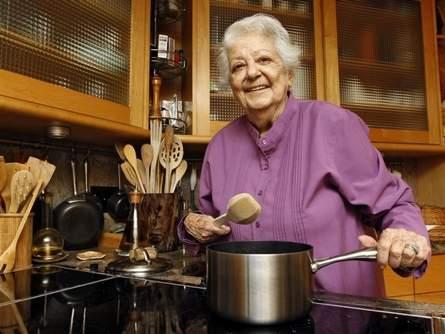 89岁的意大利女食神去世-大器晚成的典范