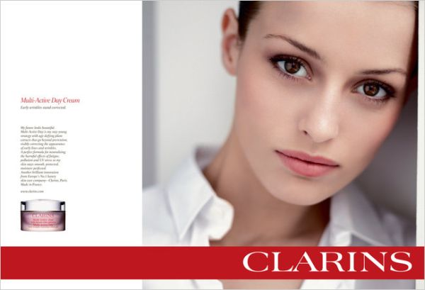 Clarins-Campaign