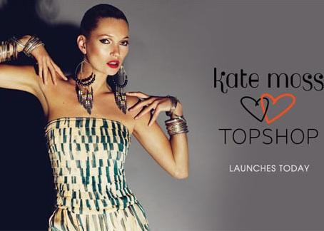 Topshop 进军中国大陆,Kate Moss 打先锋
