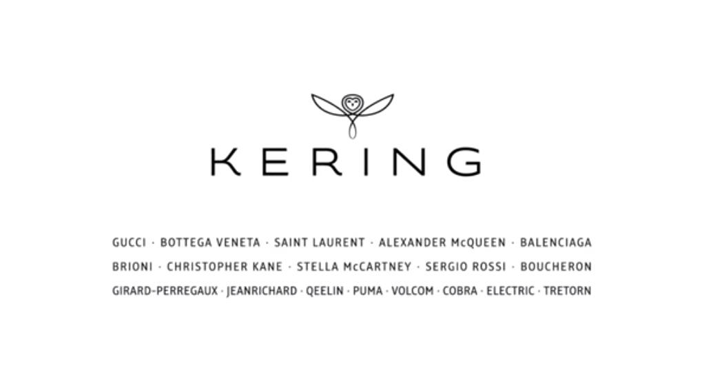 Kering-PPR brand portfolio