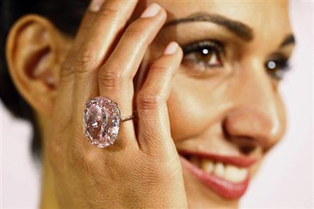 Pink Star 创下单颗钻石拍卖历史最高纪录