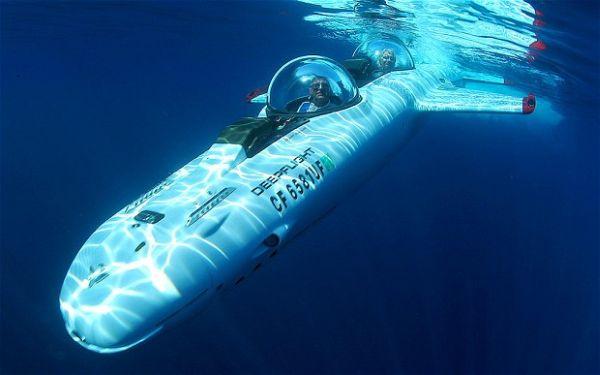 巨富新宠:DeepFlight 水下飞机