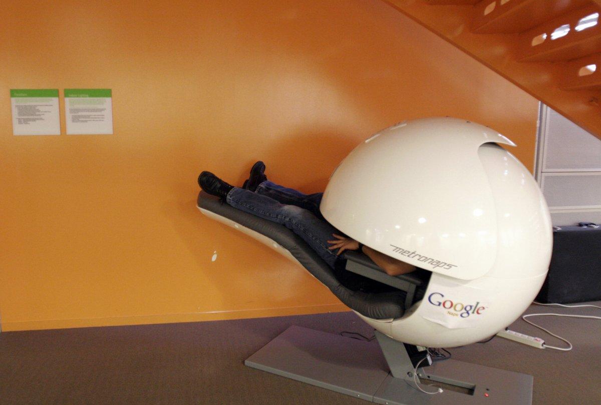 让人眼馋的Google 总部新玩意