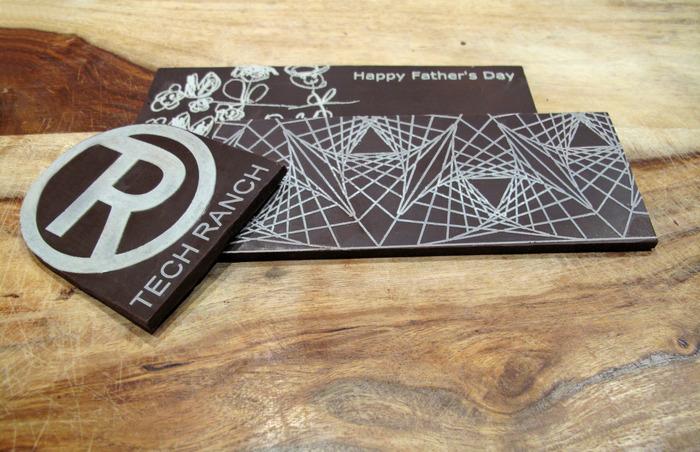 最贴心的3D打印应用-定制巧克力