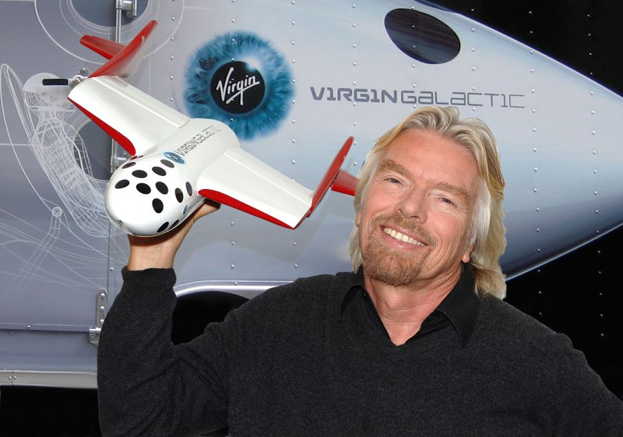 Branson and Virgin Galactic