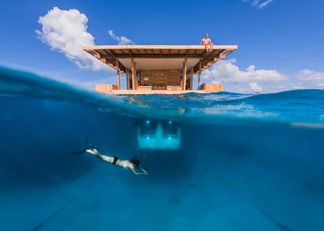 终于有一家真正的海底酒店开张了,体会一下