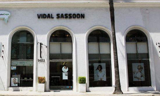vidal sasson salon