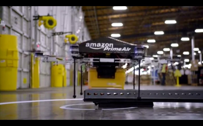 亚马逊未来电商大杀器-无人送货机