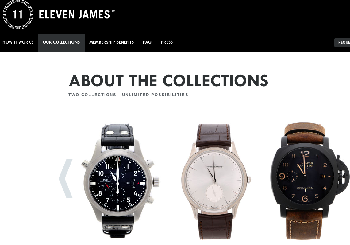 Eleven James 将共享风吹向奢侈品