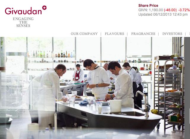 Dior, Prada 香水的原料商 Givaudan 的二股东,雀巢公司退出