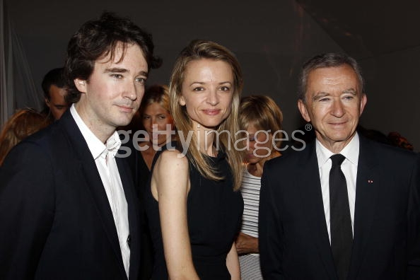 Arnault and son, daughter