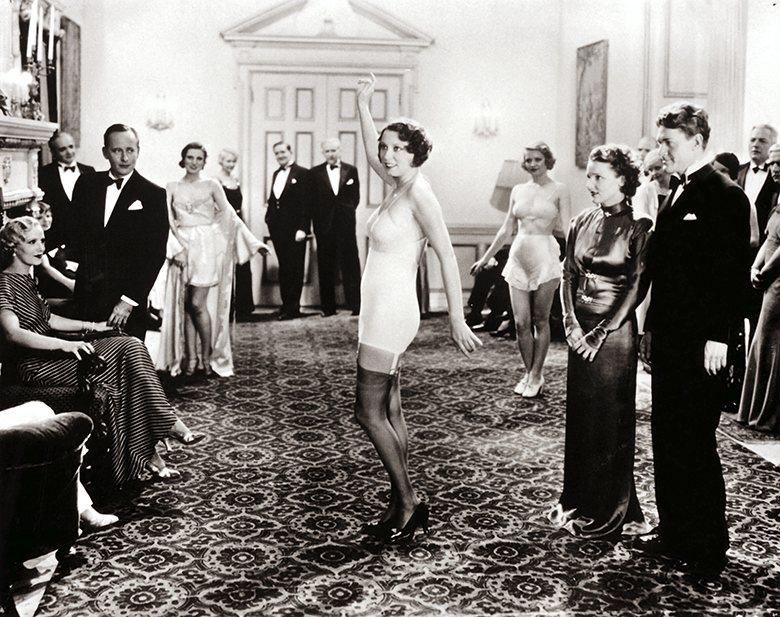 Lingerie show, 1925