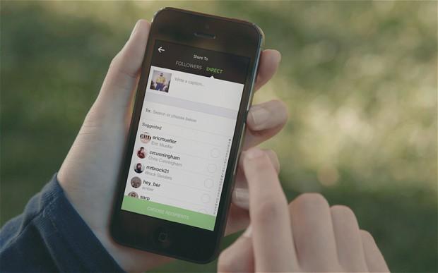 Instagram 新推私密图片分享功能,Gap 火速应用