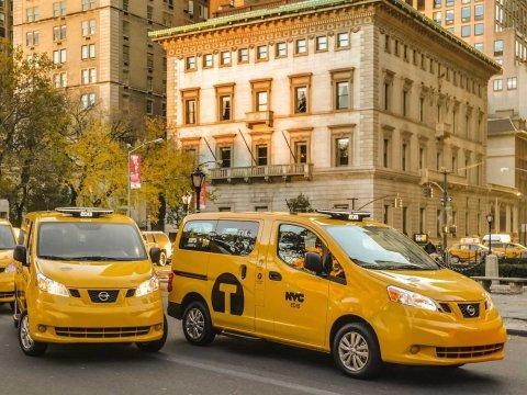 纽约新款出租车,人性化设计超赞