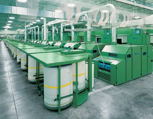 中国需求催肥美国纺纱业