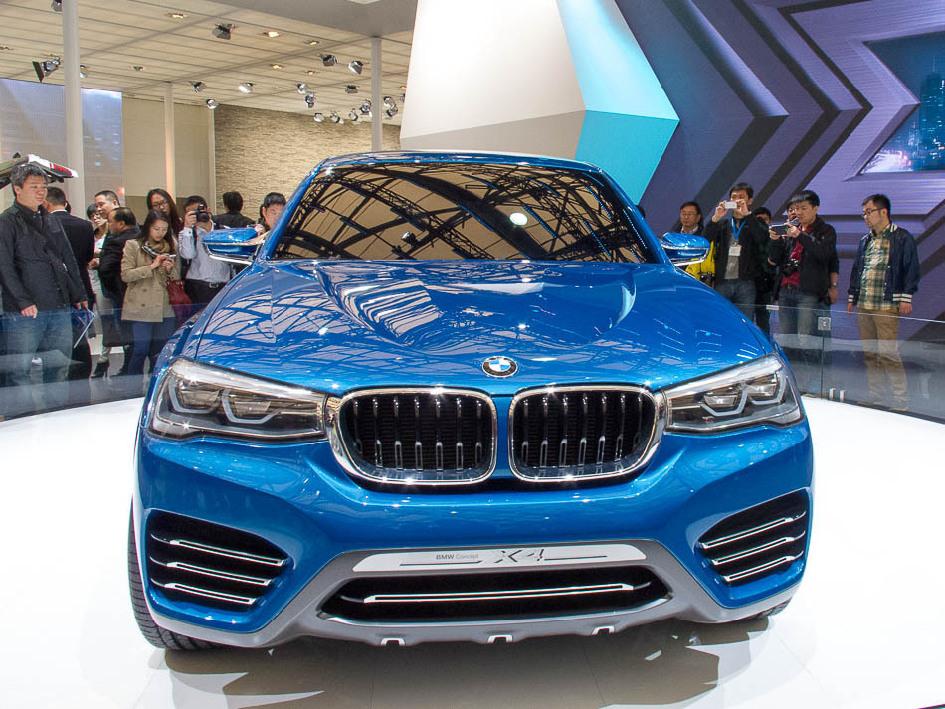 BMWX4 China