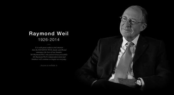 瑞士奢华表平民化的先驱,Raymond Weil 去世