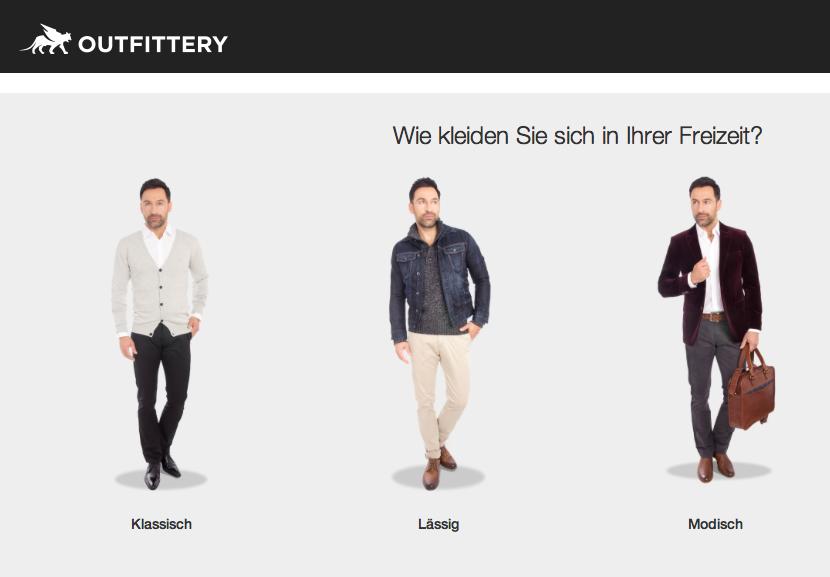 让女人给男人选衣服, Outfittery 获千万级风险投资