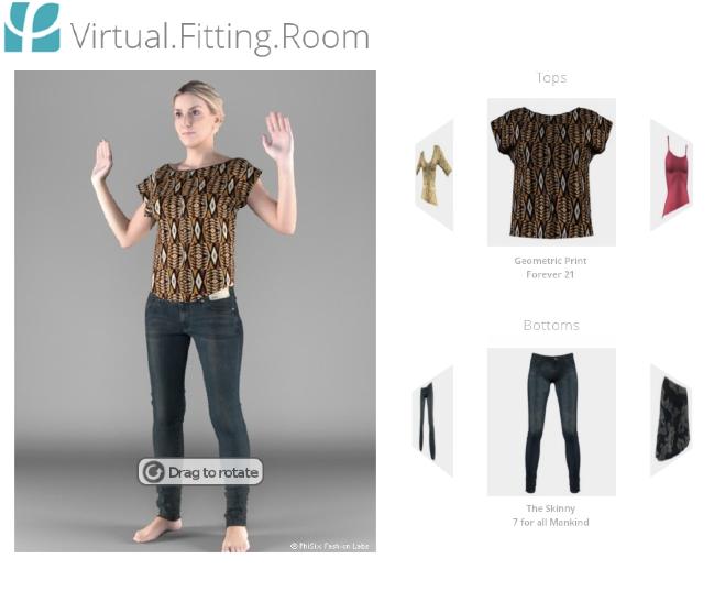 将好莱坞特效运用到虚拟试衣,PhiSix 被eBay 收购