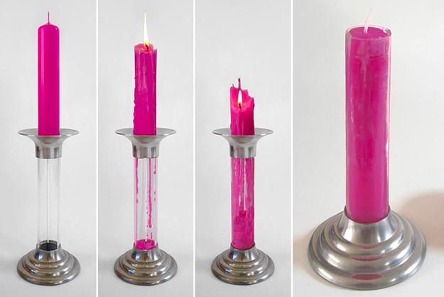 """设计照亮世界-可以""""死而复生""""的蜡烛"""