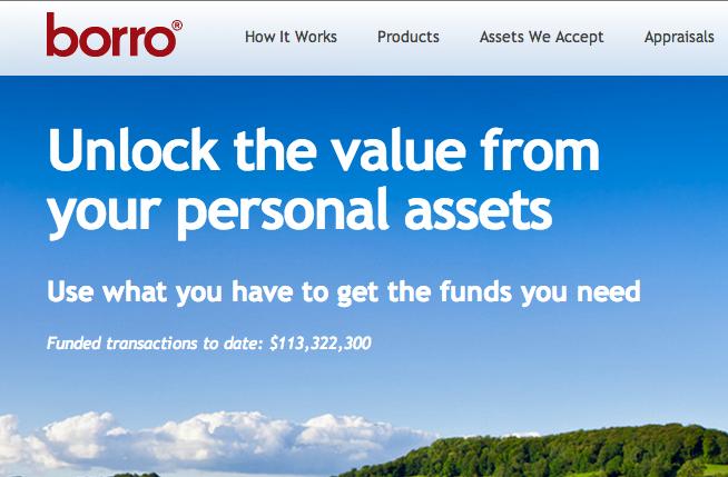 网上奢侈品典当行 Borro 融资1.12亿美元