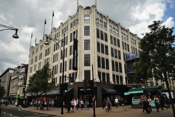 南京新百收购英国百年老店 House of Fraser