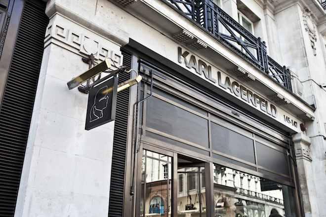 Regent-Street-Karl-Lagereld-