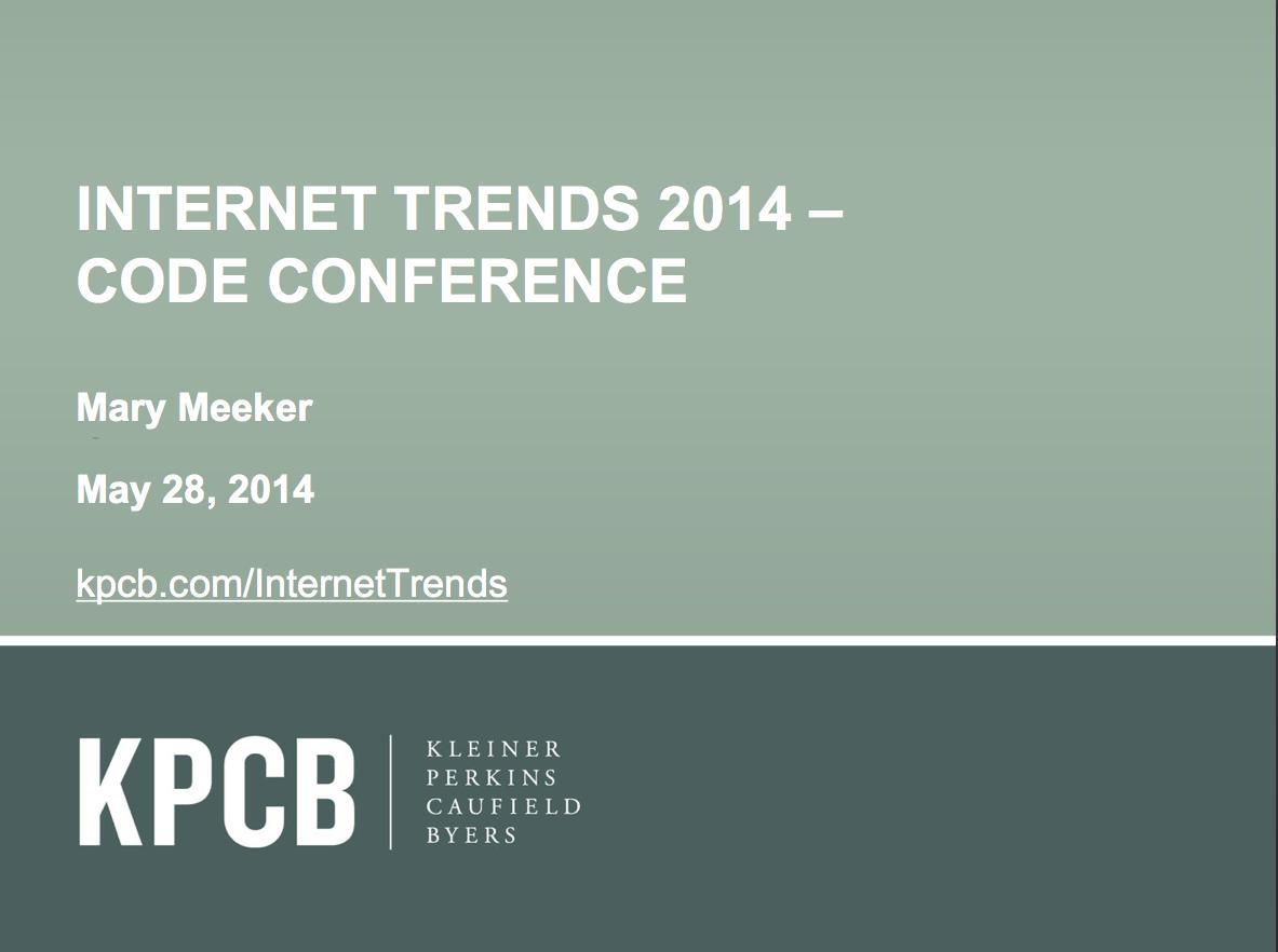 从互联网女王2014年最新报告,看品牌营销五大新思维