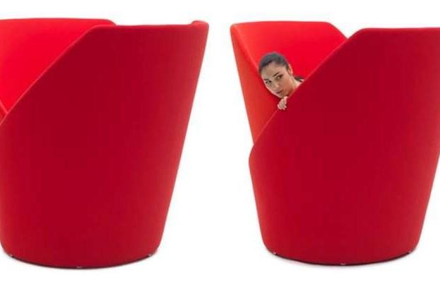 神奇的椅子,1秒钟转出一个私密工作间