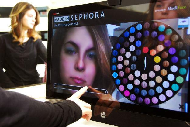 """""""增强现实""""虚拟试妆-Sephora 也来了"""
