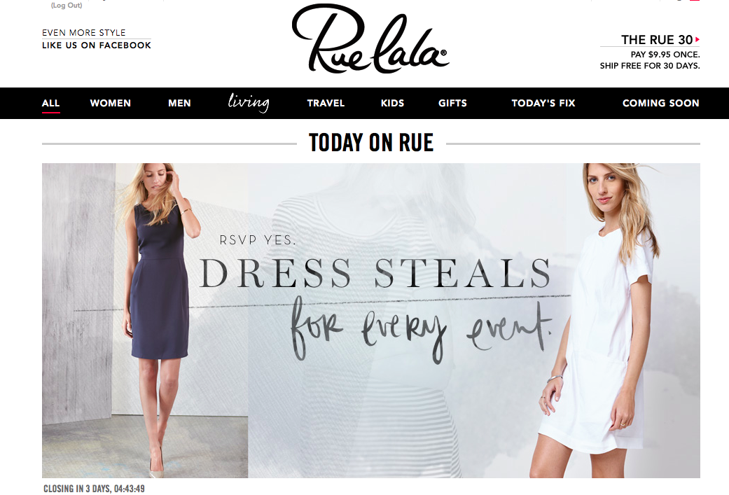 奢侈品闪购网站Rue La La 谋求出售